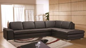 Block Sectional, Right Hand Chase, Brown