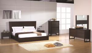 Escape Bedroom Set, Wenge