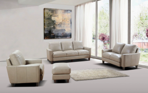 York Living Room Set, Taupe
