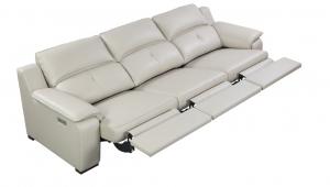 Thompson Sofa 3 Recliners, Taupe