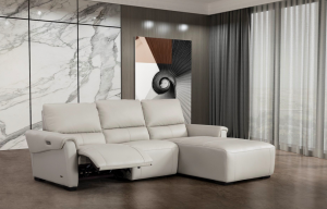 S275 Sectional Sofa Right Hand Chaise, Smoke