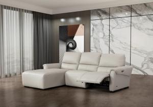 S275 Sectional Sofa Left Hand Chaise, Smoke