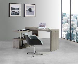A33 Modern Office Desk, Matte Grey