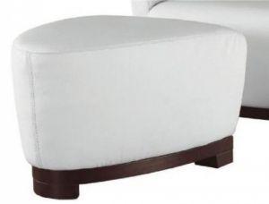 Alba Ottoman, White