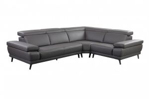 Mercer Sectional Right Hand Chaise, Slate Gray