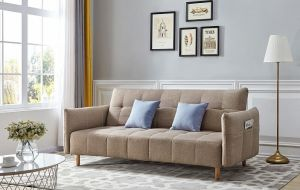 Melanie Sofa Bed, Beige