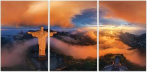 Premium Acrylic Wall Art Christ The Redeemer - SH-72328ABC