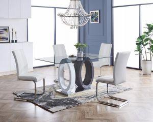 D1628DT W/D915DC White Dining Room Set
