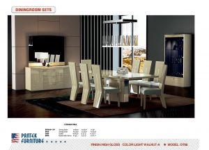 DS 68 Walnut Dining Room Set