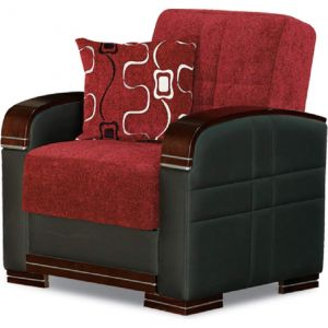 Indiana Chair, Red/Brown