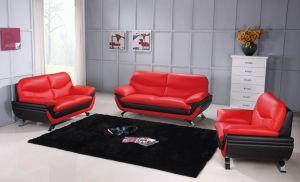 Jonus Living Room Set, Red Black