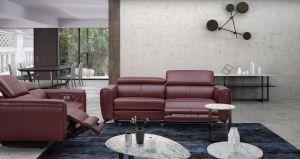 Lorenzo Motion Living Room Set, Merlot