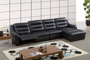 Ludlow Sectional Right Hand Chaise, Black