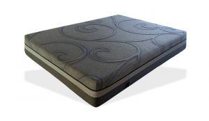 Luxury Gel Memory Foam Twin Size Mattress, Grey