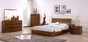Maya Bedroom Set, Teak