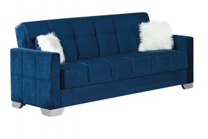 Montreal Sofa Bed, Navy Blue