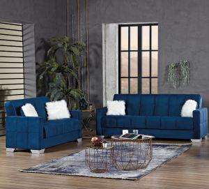 Montreal Living Room Set, Navy Blue