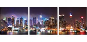 Premium Acrylic Wall Art New York - SH-71051ABC