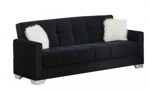 Ontario Sofa Bed, Black