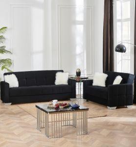 Ontario Living Room Set, Black