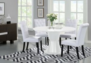 Orbit Dining Table, White