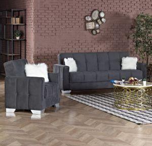 Ottawa Living Room Set, Grey