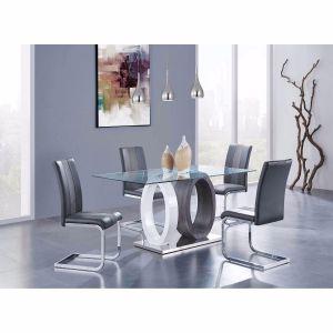 D1628DT W/D915DC Grey Dining Room Set