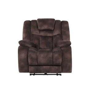 U1706 Power Reclining Chair, Chocolate