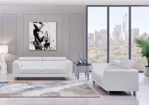 U8210 Living Room Set, Pluto White