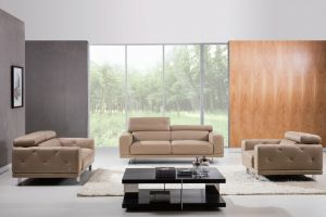 S116 Living Room Set, Taupe