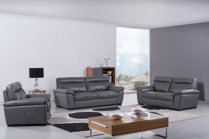S173 Living Room Set, Gray