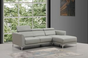 Slate Sectional Sofa Right Hand Chaise, Smoke