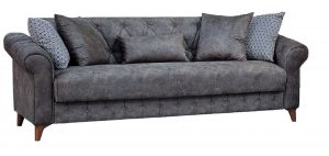 Barcelona Sofa Bed, Grey