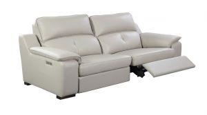 Thompson Sofa 2 Recliners, Taupe