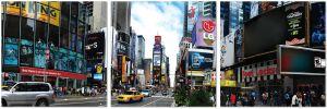 Premium Acrylic Wall Art Times Square - SH-72460ABC