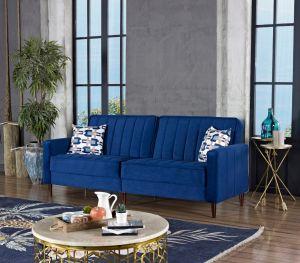 Torino Convertible Sofa Bed, Navy Blue