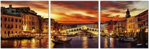 Premium Acrylic Wall Art Venice - SH-72309ABC