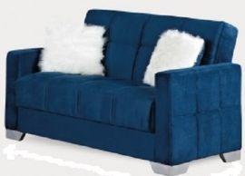 Montreal Loveseat, Navy Blue