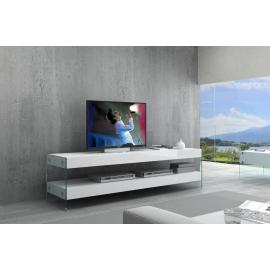 Cloud TV Stand, White