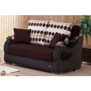 Illinois Loveseat, Brown