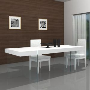 Cloud Dining Table, White