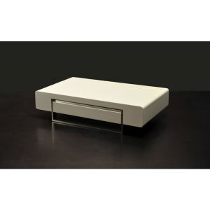 902A Coffee Table, White