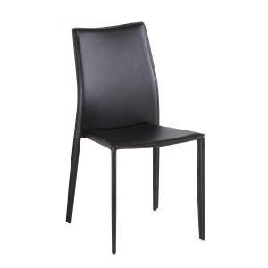 C031B Modern Dining Chair Black, Set of 4
