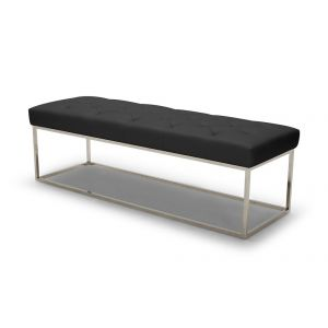 Chelsea Lux Bench, Black