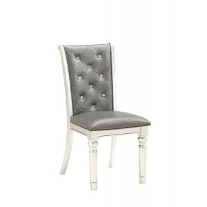 D3355 Dining Chair Silver, Set of 2