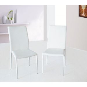 DC13 Dining Chair White, Set of 4
