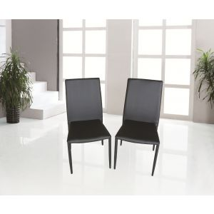 DC13 Dining Chair Black, Set of 4