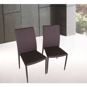 DC13 Dining Chair Choclate, Set of 4