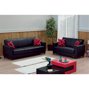 Harlem Living Room Set, Black
