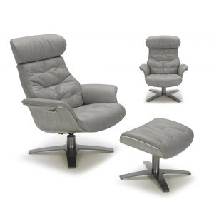The Karma Lounge Chair, Grey